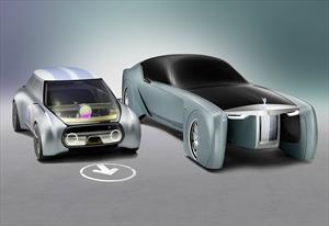 Rolls-Royce y MINI Vision Next 100 Concept debutan