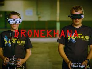 Dronekhana One, una carrera de drones a pura potencia