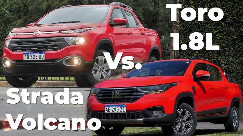 FIAT Strada Volcano Vs. Toro Freedom 4X2 ¿Cuál pickup conviene comprar?