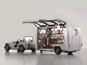 Toyota Camatte Capsule, un remolque exclusivo para niños