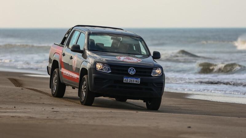 Verano 2021: Volkswagen Amarok vigilará las playas bonaerenses