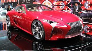 Lexus LF-LC Concept debuta en el Salón de Detroit 2012