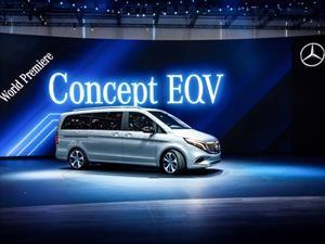 Mercedes-Benz EQV Concept, la van se vuelve eléctrica