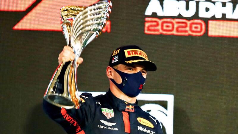 Max Verstappen triunfa en la última fecha de la temporada 2020 de F1
