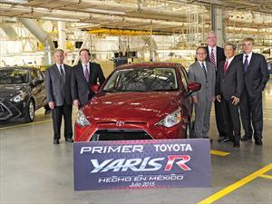 En México ya fabrican al Toyota Yaris R