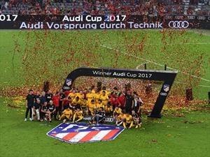 Atlético Madrid se quedó con la Audi Cup