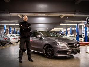 Simon Eckert, el AMG Flying Doctor hizo una parada por Chile