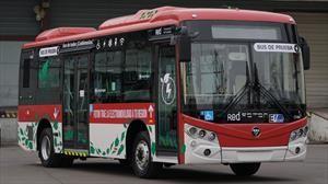 Foton e-Bus debuta en Feria Transurbano, como propuesta para RED