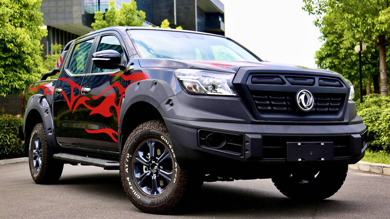 Dongfeng Rich 6 Off-Road 2021, una nueva y atractiva pickup china todoterreno