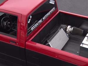 Coloca el turbo en la caja de su pick-up