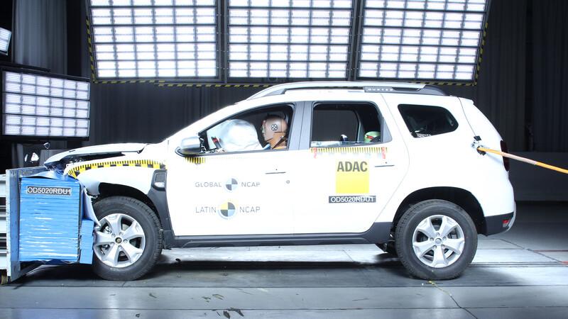 Cero estrellas para la nueva Renault Duster 2021 en pruebas de impacto de la Latin NCAP