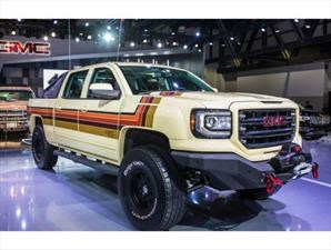GMC Sierra Desert Fox Concept, un pick up retro y extremo