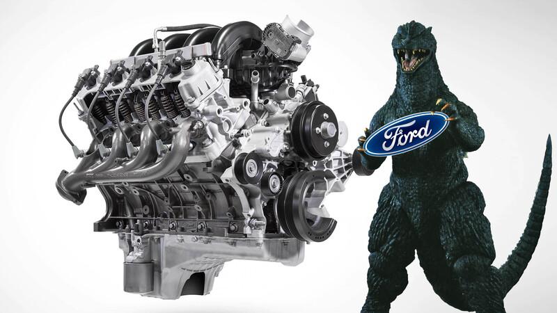 Ford Megazilla, un V8 más potente que el Godzilla de 7.3L