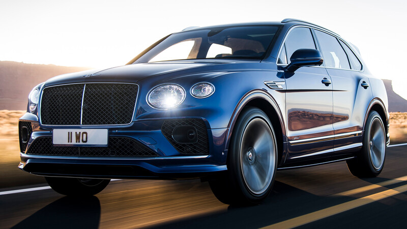Bentley actualiza a su súper SUV Bentayga Speed