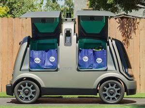 Kroger y Nuro crean vehículo repartidor de mercados