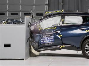 Nissan Murano 2015 obtiene el Top Safety Pick+ del IIHS