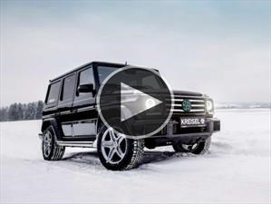 Schwarzenegger estrena Mercedes-Benz Clase G eléctrico