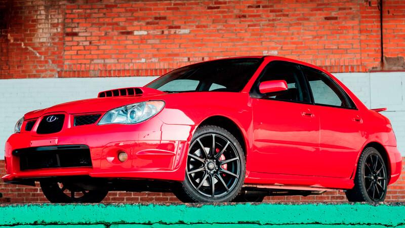 El Subaru WRX STI de Baby Driver sale a subasta en Ebay