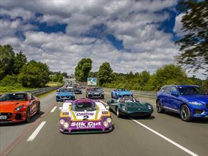 Jaguar Classic Challenge en Le Mans