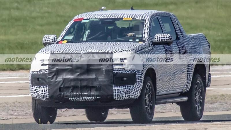 Nueva Volkswagen Amarok ya está siendo probada