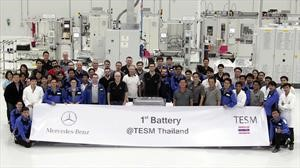 Mercedes-Benz proyecta una red mundial para fabricar baterías de autos eléctricos