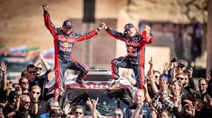 Carlos Sainz y Lucas Cruz ganan el Dakar 2020 a bordo de un MINI