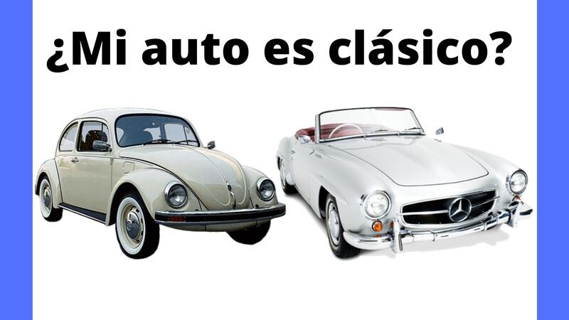¿Cómo saber si mi auto es clásico?
