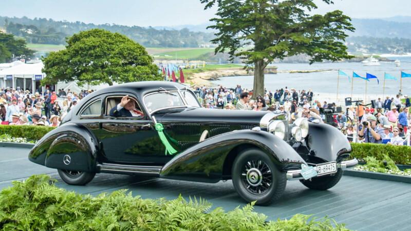 Un Mercedes-Benz hecho en la Alemania nazi fue el más lindo de Pebble Beach