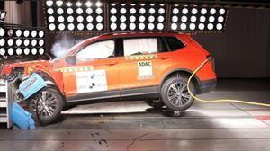 Volkswagen Tiguan se queda con la máxima calificación en Latin NCAP