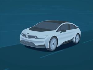 Primera imagen del sedán i de BMW