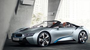 BMW i8 Spyder Concept, el exótico híbrido ahora a cielo abierto