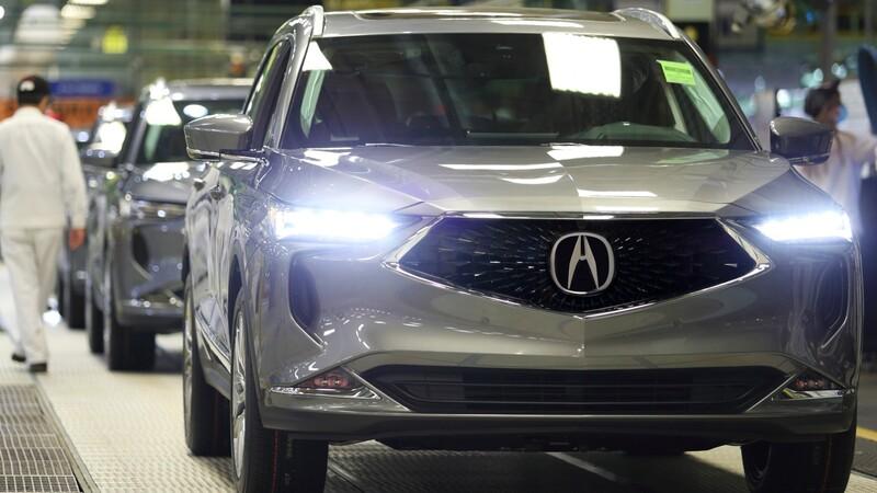 Acura inicia la producción de la MDX 2022 en Estados Unidos