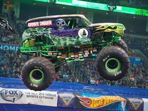Llega a Chile Monster Jam Trucks, exhibición de camionetas monstruo