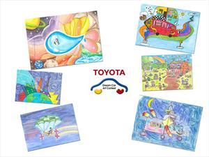 Toyota muestra en Pinamar los pequeños ganadores de su concurso de dibujo