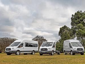 Ford Transit tiene nuevas versiones en Argentina