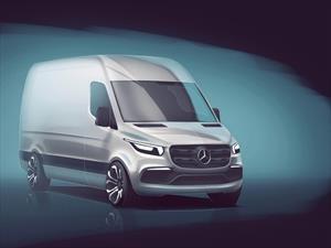 Mercedes-Benz adelanta la nueva Sprinter 2018