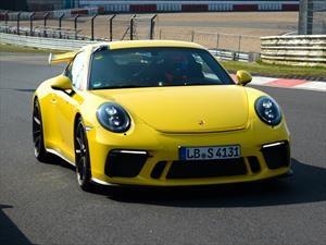Porsche 911 GT3 2018 logra un espectacular tiempo en Nürburgring