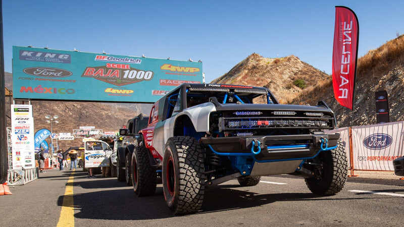 Ford vuelve al Baja 1000 con la Bronco