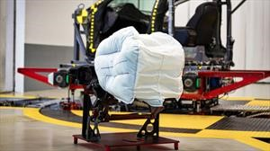 Honda prueba un novedoso airbag para pasajeros