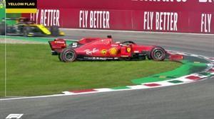 F1 2019: Sebastian Vettel y la otra cara de Ferrari en el Gran Premio de Monza