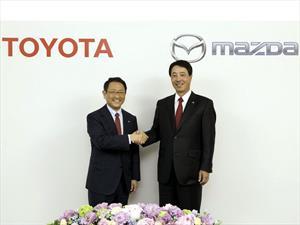 Mazda y Toyota firman acuerdo de colaboración