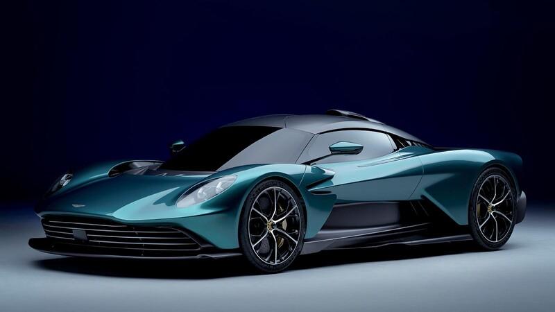 Aston Martin Valhalla un misil híbrido