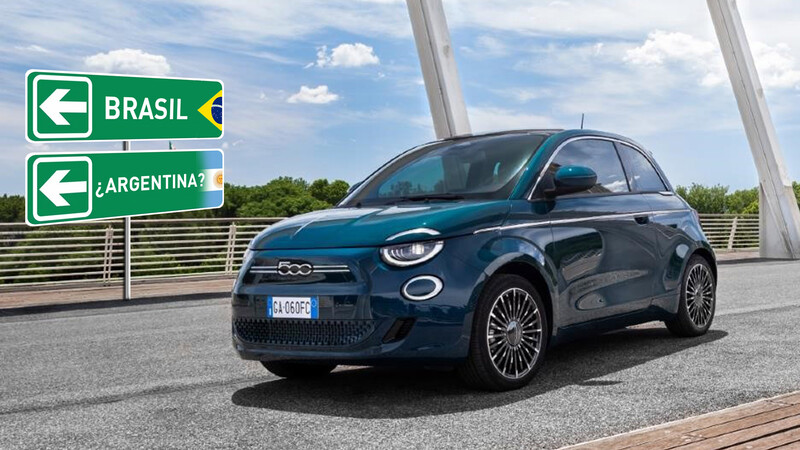 FIAT 500 eléctrico se acerca a Argentina