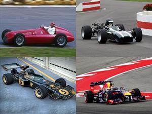 Video: Impresionante manera de ver la evolución de los autos de Fórmula 1