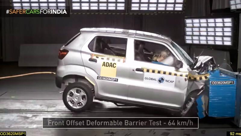 Suzuki S-Presso: cero estrellas en pruebas de choque