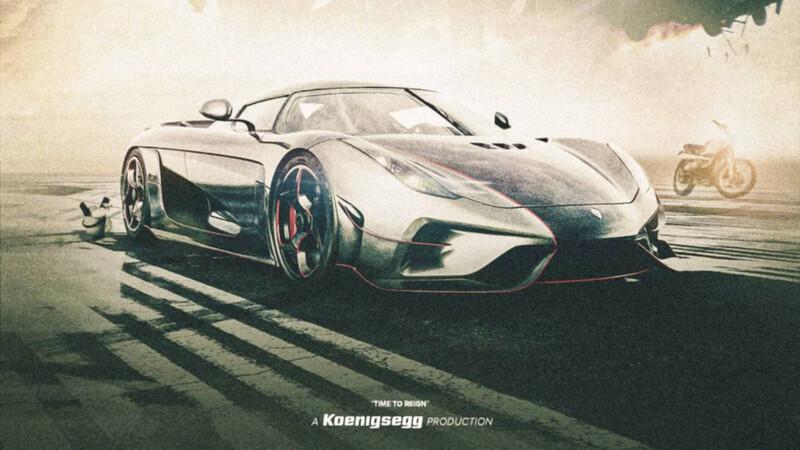 Time to Reign, el cortometraje de acción de Koenigsegg que merece un Oscar