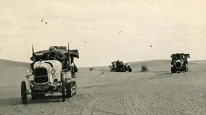 """Travesía al Sahara: Citroën repetirá la """"Ë.Popée"""" pero ahora con un eléctrico"""
