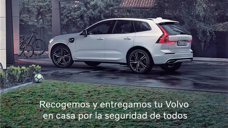 Vitrinas y talleres de Volvo reabren sus puertas