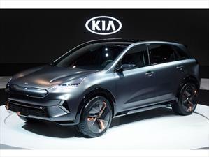 Kia Niro EV Concept anticipa la versión 100% eléctrica