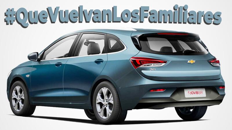 Queremos esta Chevrolet Onix Wagon #QueVuelvanLosFamiliares: